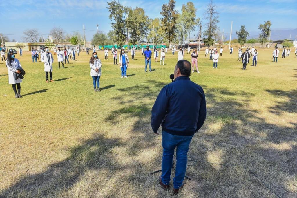Por la pandemia de COVID-19, Salta y Santa Cruz replicarán el modelo de voluntariado estudiantil de nuestra provincia
