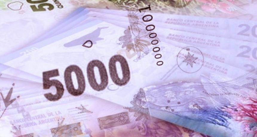 ¿Se viene el billete de 5 mil pesos?