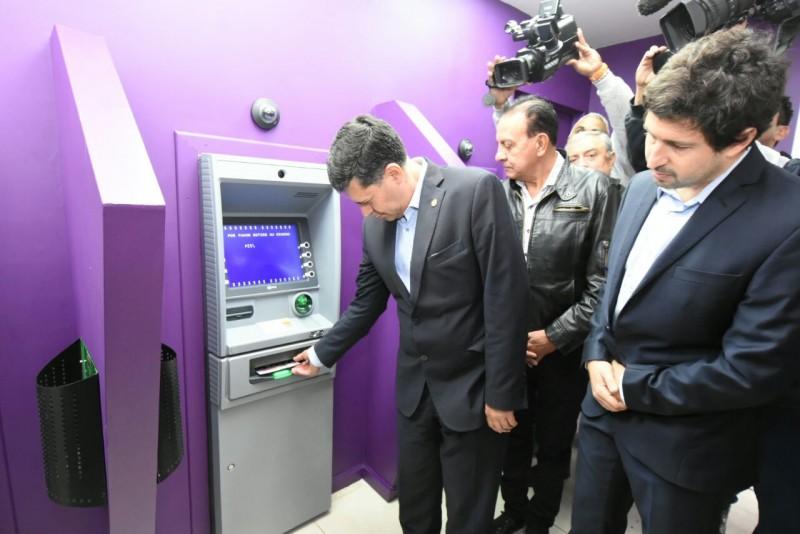 El Banco Rioja inauguró cajeros en el Parque de la Ciudad
