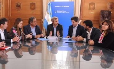 El municipio firmó acuerdo con Nación para iniciar la obra del Río Tajamar