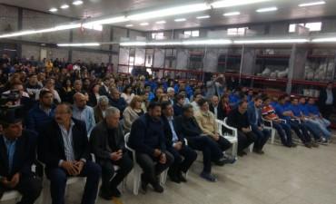 Casas inauguró la Cooperativa de Trabajo