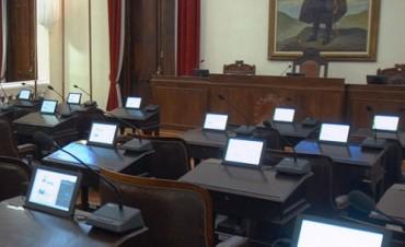 Legislatura Provincial: Solo 9 diputados se presentaron en la Sesión