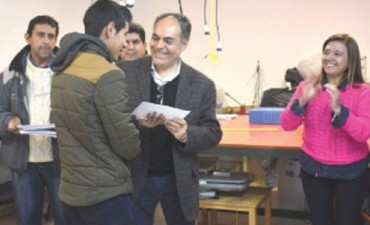 Galleguillo valoró el aporte nacional con los REPRO Express para fábricas riojanas