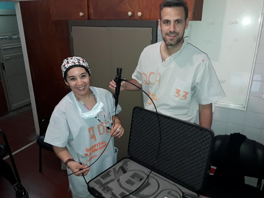 El hospital Vera Barros adquirió un dispositivo para cirugías de tórax