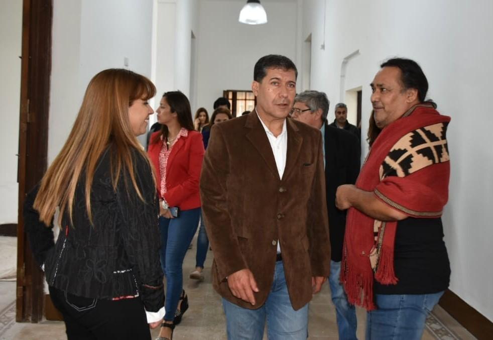 Casas constató obra del nuevo centro artístico y cultural