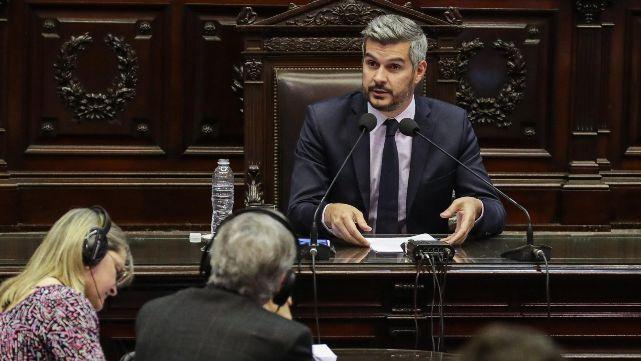 Peña defendió en Diputados la inversión social del Presupuesto 2019
