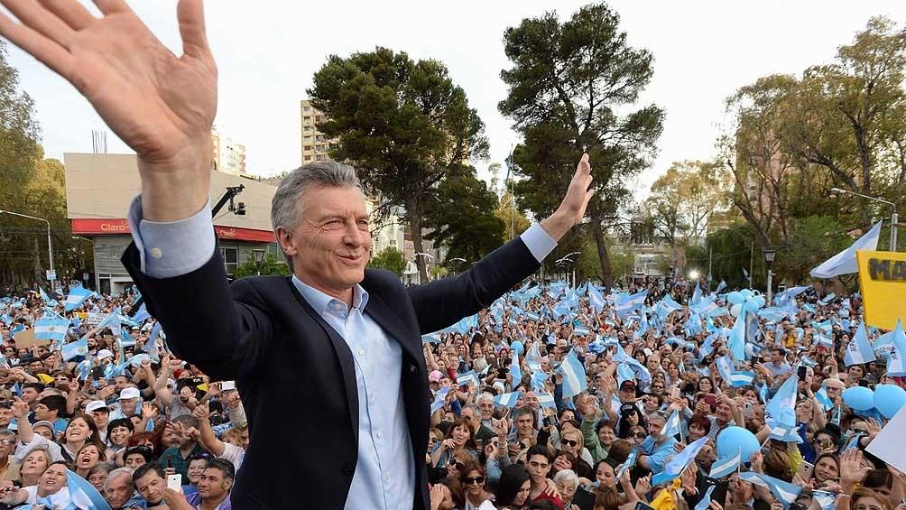 Macri lleva la marcha del