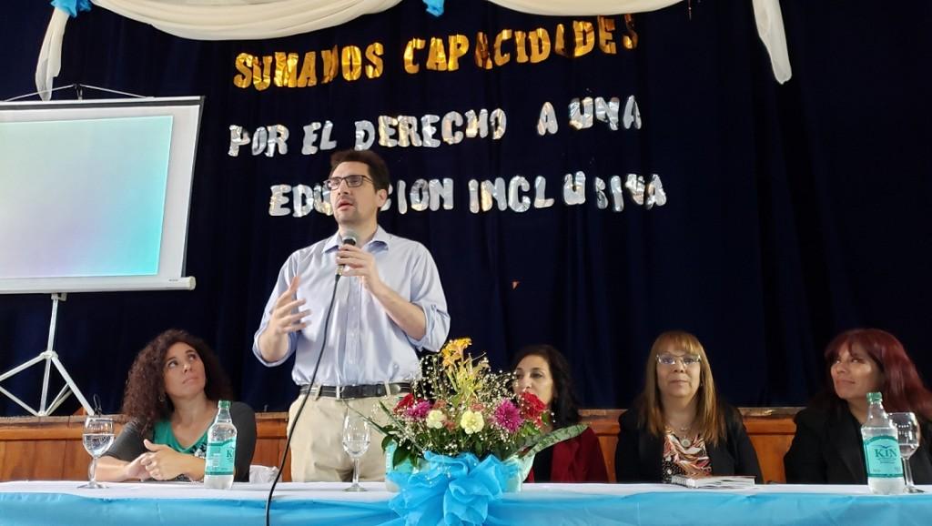 Educación desarrolló el Primer Encuentro Provincial de Educación Especial