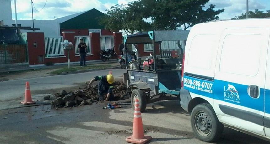 Corte en acueducto de Sanagasta dejará sin agua a barrios de la capital