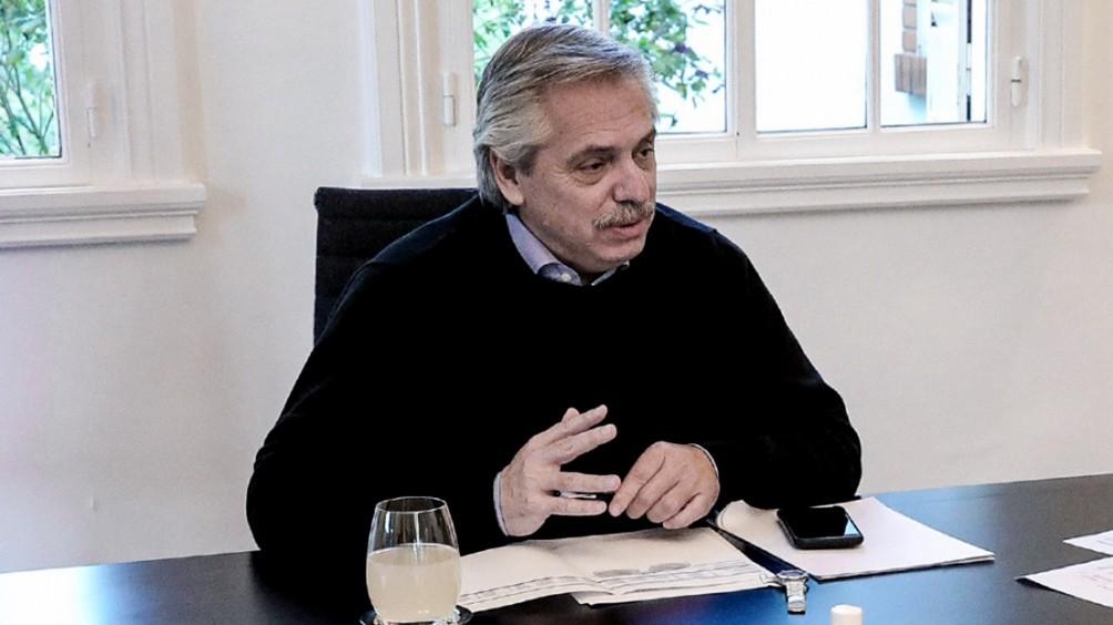 Alberto Fernández abrirá el coloquio virtual de IDEA