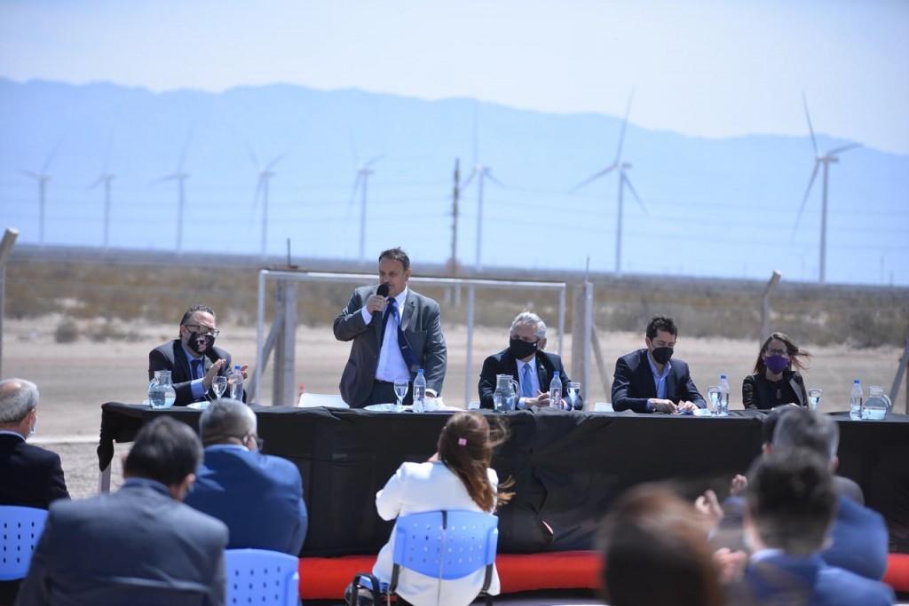"""Quintela: """"La Rioja se convierte en una gran potencia en materia energética"""""""