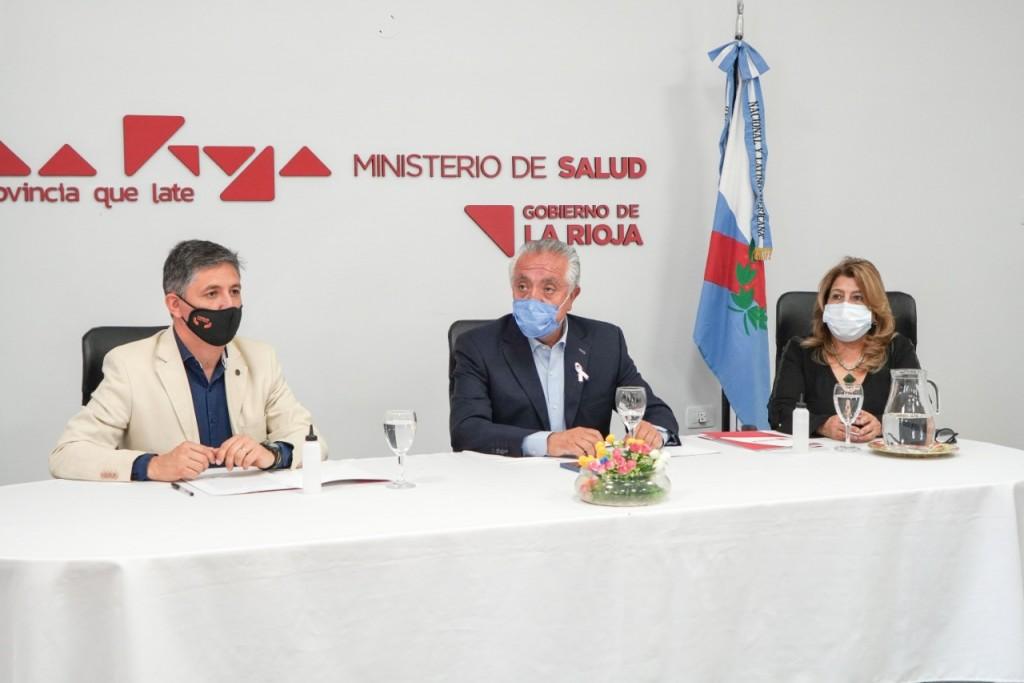 Firman acuerdo para que estudiantes de la UNLaR realicen la Práctica Final Obligatoria (PFO) en Salud Pública