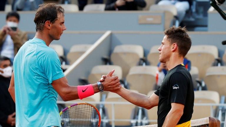 Roland Garros: Schwartzman no pudo con Nadal y se despidió en semifinales
