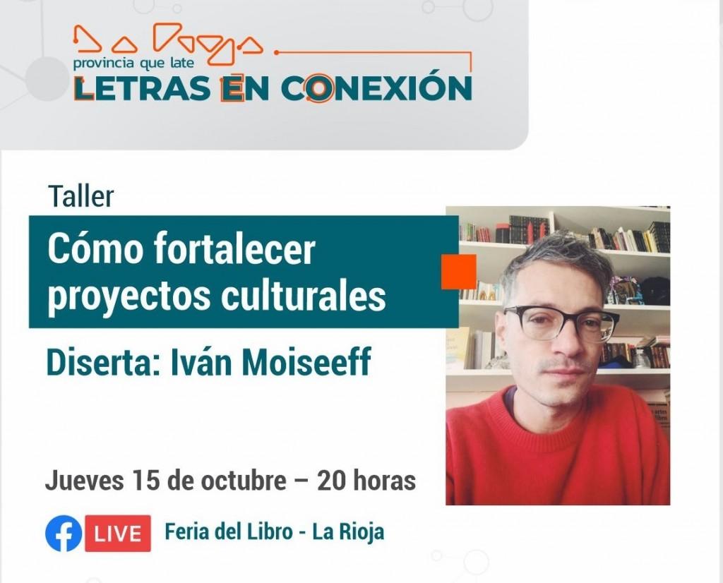 """Culturas invita al taller """"Cómo fortalecer proyectos culturales"""""""