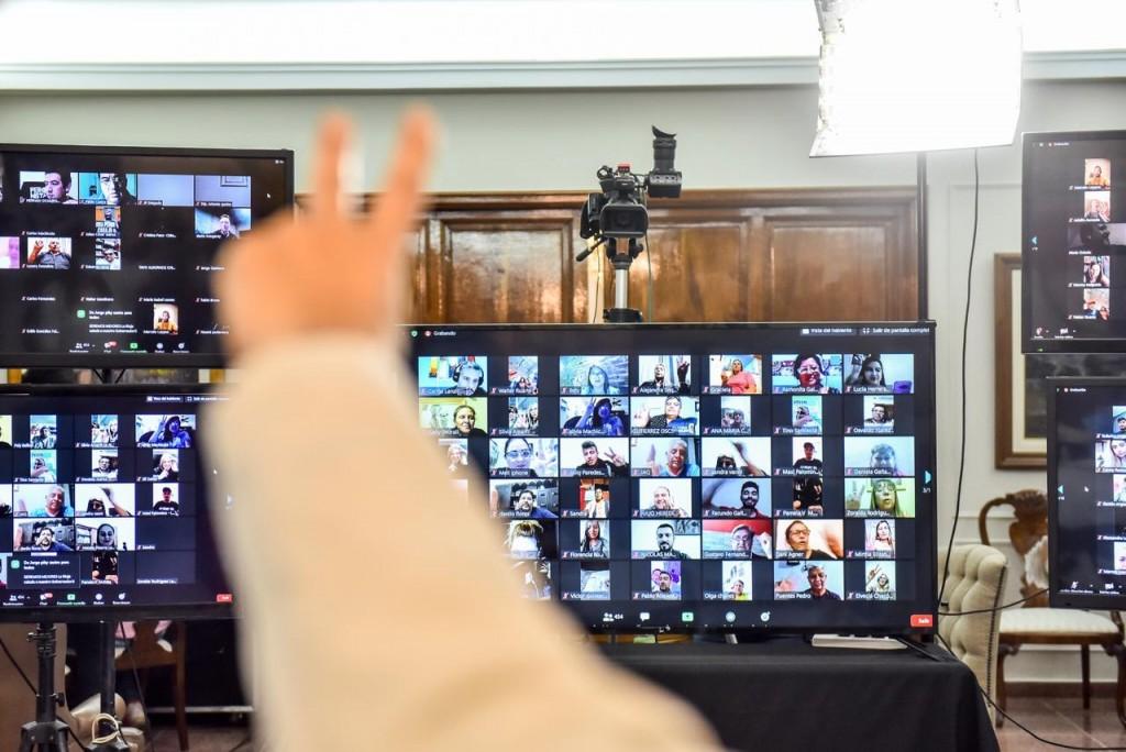 Histórica vigilia virtual por el día de la Lealtad Peronista