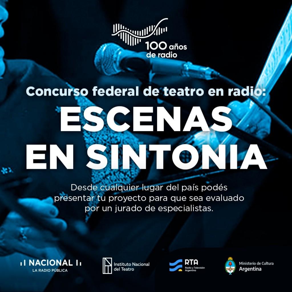 """Lanzan Concurso """"Escenas en sINTonía"""""""