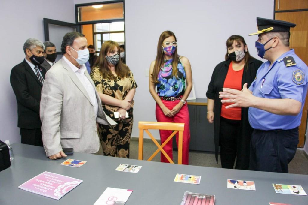 Inauguraron oficinas de recepción de denuncias por violencia de género en comisarías capitalinas