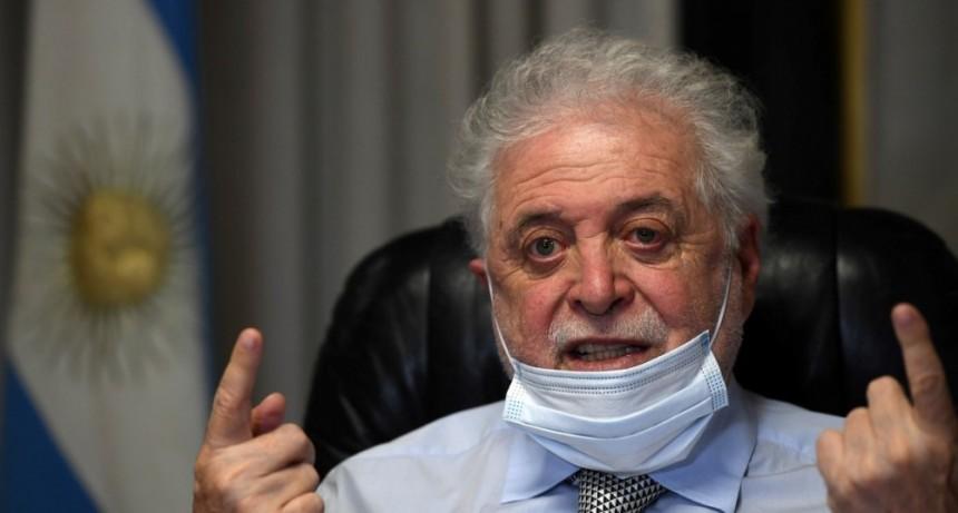 Ginés González García advirtió que la vacunación en Argentina podría comenzar