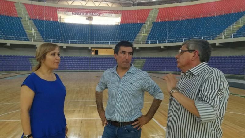 Siguen los preparativos para recibir al Seleccionado Argentino de Básquet