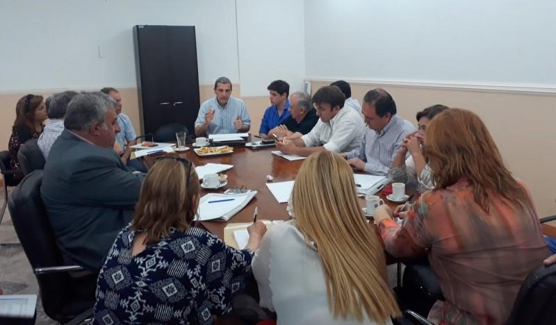 El ministro Guerra se reunió con diputados por el Presupuesto 2018
