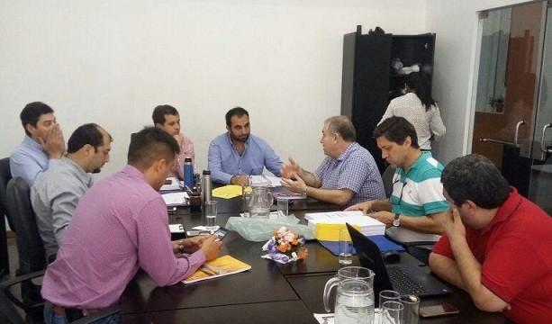 Buso se reunió con los concejales para tratar el Presupuesto 2018