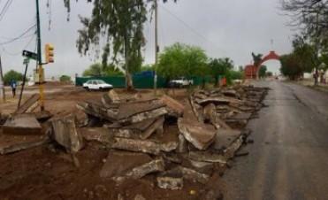 El municipio informó cortes en nuevo tramo de la obra en la Avda Ortíz de Ocampo