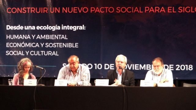 La Iglesia llamó a construir un nuevo pacto social