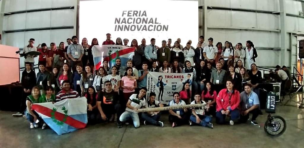 Innovación Educativa 2019: estudiantes riojanos participaron de la Feria Nacional