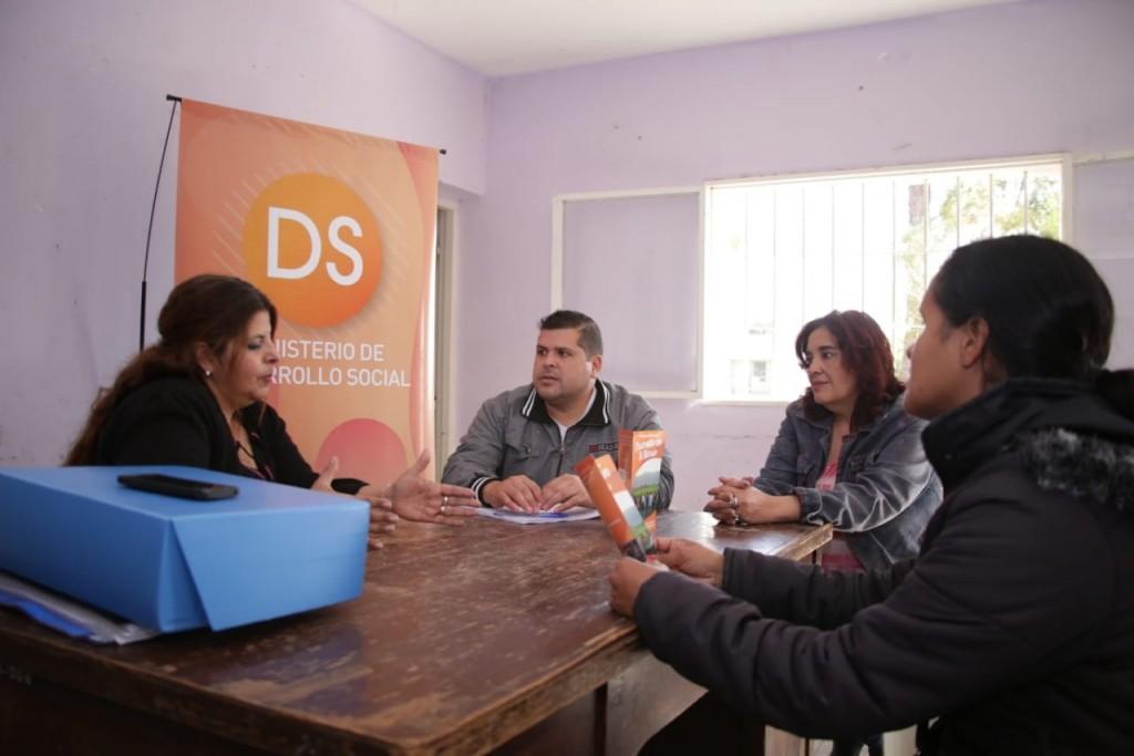 Desarrollo Social descentraliza sus programas en los barrios de la Capital