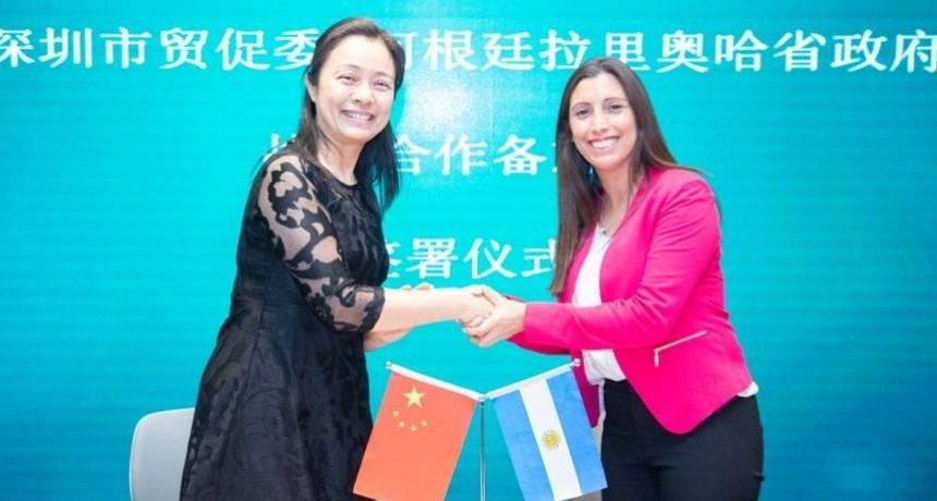 La Rioja firmó convenio para propiciar relaciones comerciales con China