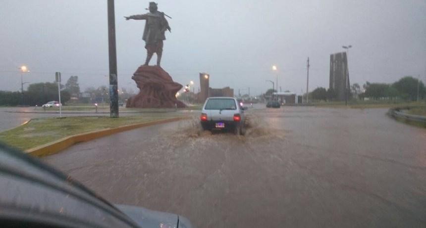 Defensa Civíl dió a conocer el registro de lluvias