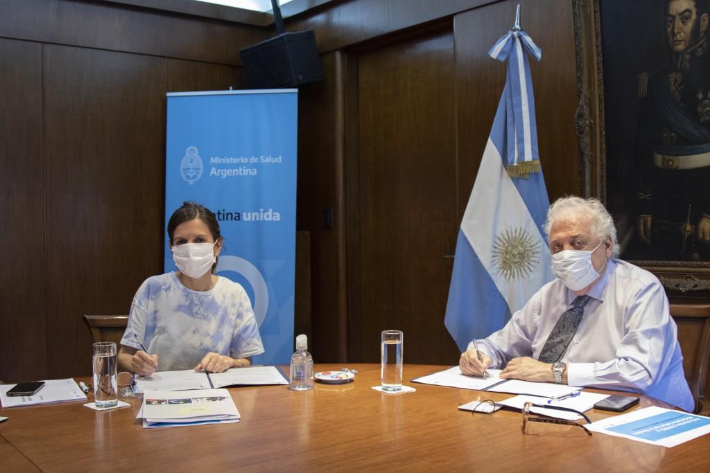 Salud y ANSeS acordaron intercambio electrónico de información