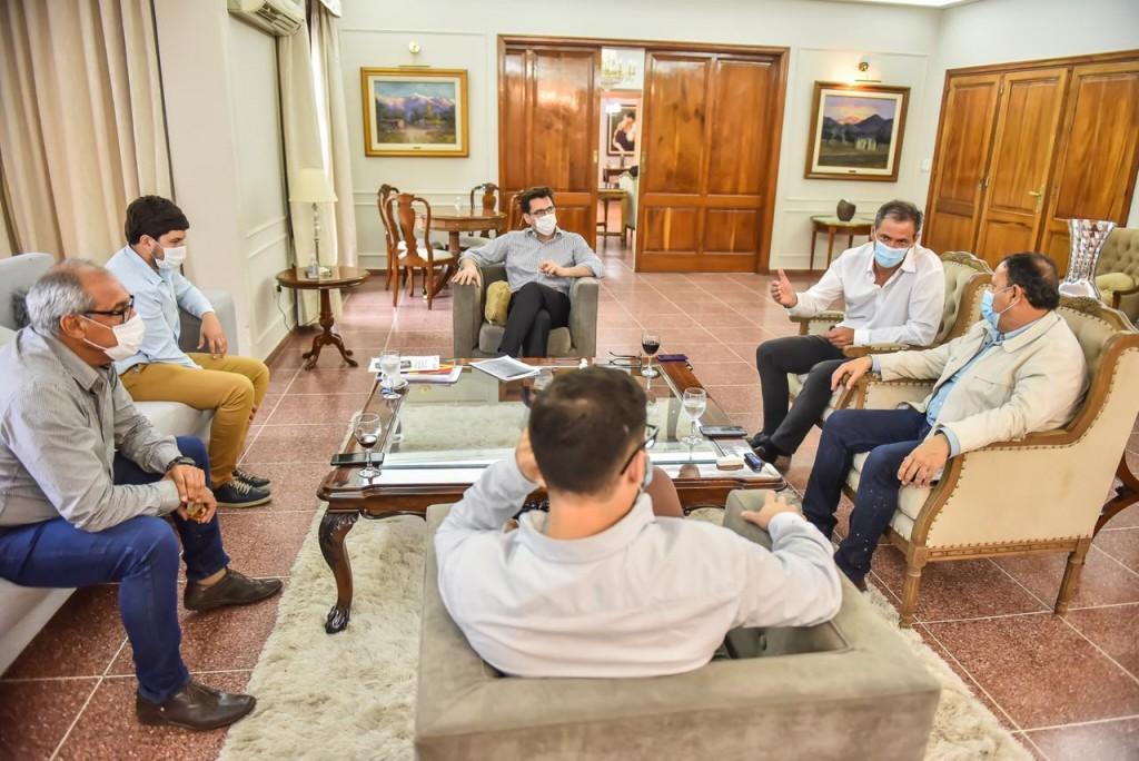 Anuncian que se concluirá obra de gasoducto Casa de Piedra-Patquía-Chilecito