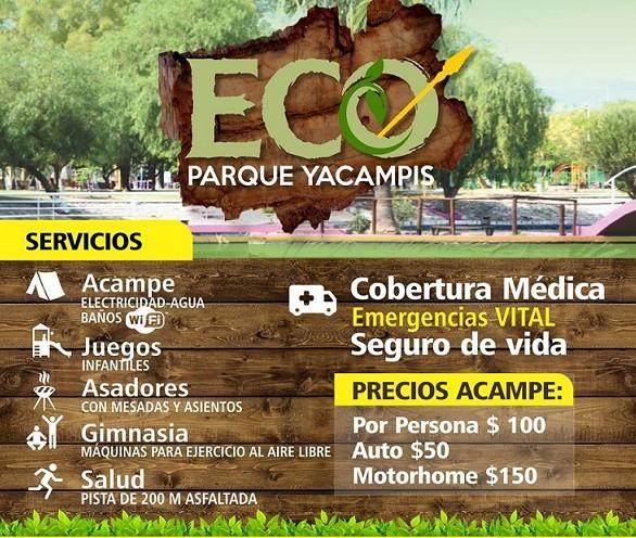 El Eco Parque Yacampis ofrece sus servicios a los turistas