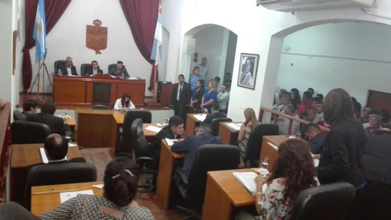 Rechazaron el informe de gestión presentado por Felipe Álvarez y Oscar Luna es el nuevo viceintendente