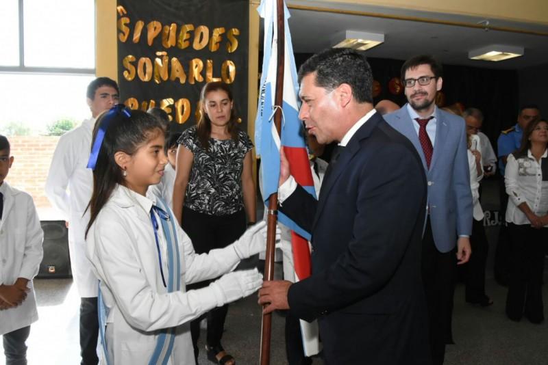 El gobernador Casas asistió al cierre del ciclo lectivo 2017