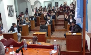 Concejo Deliberante: Se aprobó el Presupuesto 2018 y el bloque Peronista tiene nuevas autoridades