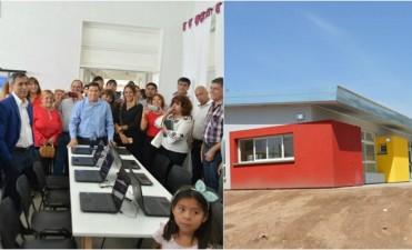 Paredes Urquiza inauguró primer punto digital del municipio y un jardín maternal