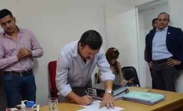 El municipio realizó la apertura de sobres para la licitación del primer tramo de la obra del Rio Tajamar