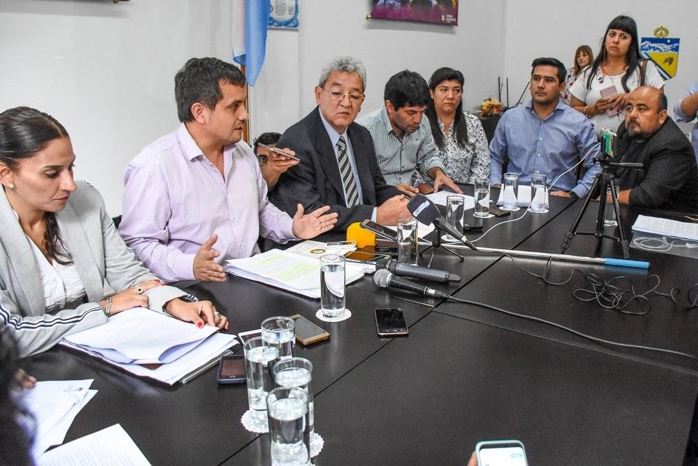 Denunciaron persecución política a ocho concejales y al viceintendente