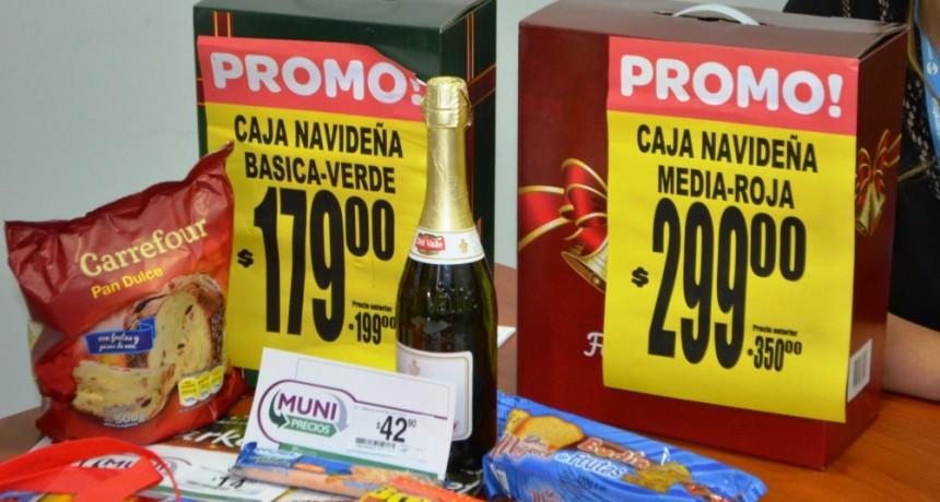 Municipio presentó canasta navideña