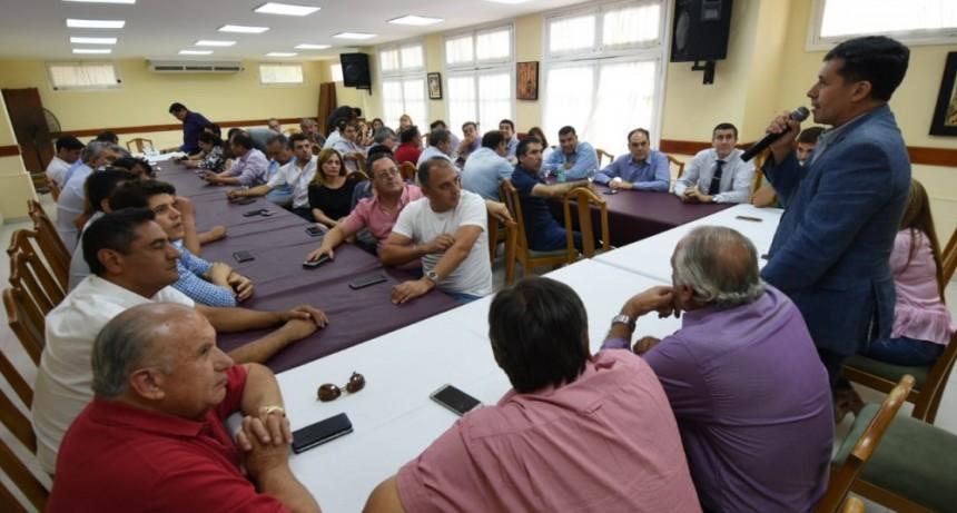 El gobierno calificó de positivo el trabajo con los municipios durante 2018
