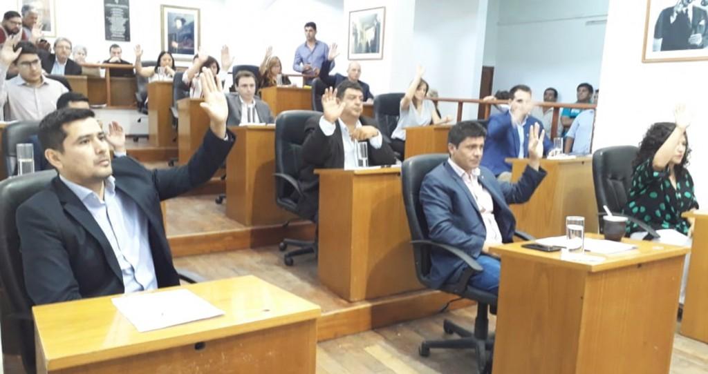 Concejo Deliberante: Ultima sesión del año