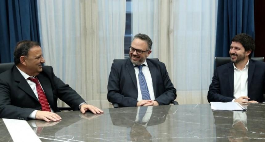 El ministro Kulfas recibió a Quintela