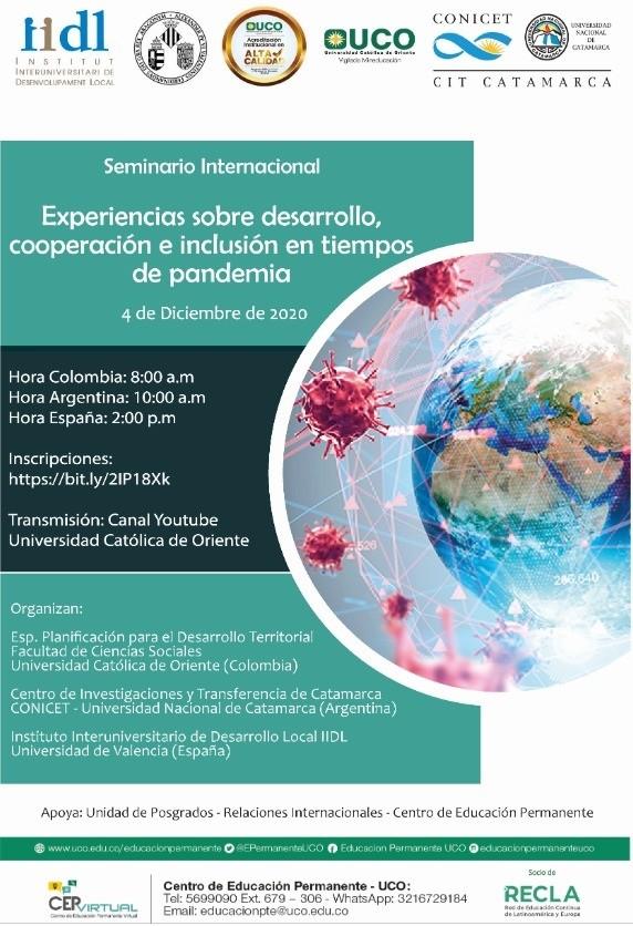 La UNCA organiza seminario internacional con universidades de España y Colombia