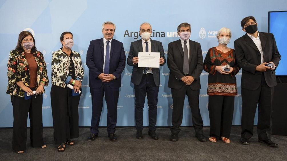 Entrega de premios a científicos argentinos