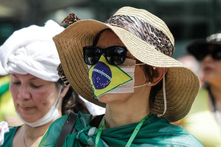 Detectan nueva cepa de coronavirus en Brasil