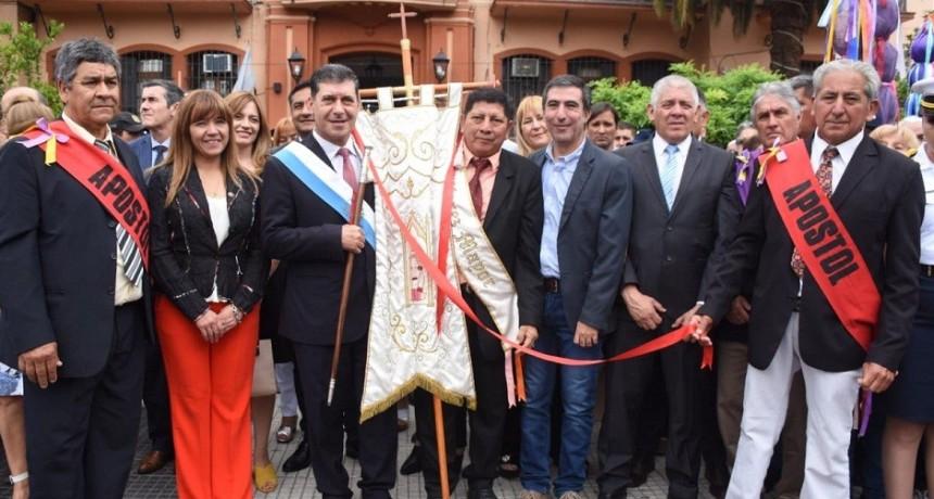 Casas participó del cierre de las fiestas patronales en honor a San Nicolas de Bari