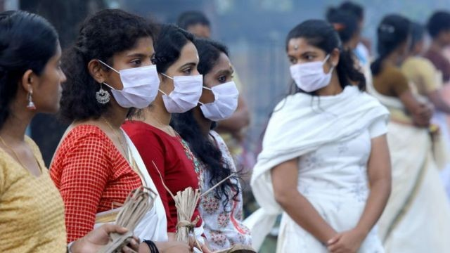 India registró un récord con más de 1.700 muertos por coronavirus en un día