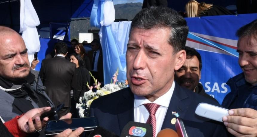 El gobernador Casas instó a un dialogo fecundo para lograr la unidad